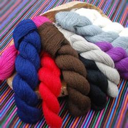 Echeveau Laine Alpaga des Andes 100% - aiguilles 3.5