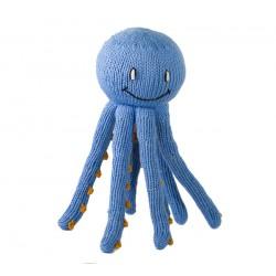Pieuvre tricotée en coton...