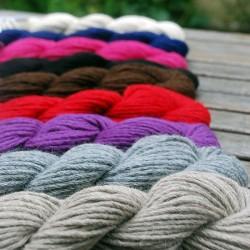 écheveaux laine à tricoter 100% baby alpaga aiguilles 6.5